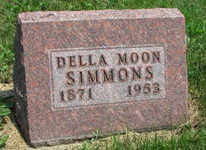 SIMMONS, DELLA - Worth County, Missouri   DELLA SIMMONS - Missouri Gravestone Photos