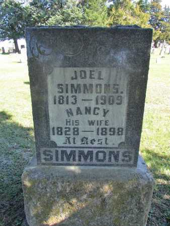 SIMMONS, NANCY JANE - Worth County, Missouri | NANCY JANE SIMMONS - Missouri Gravestone Photos