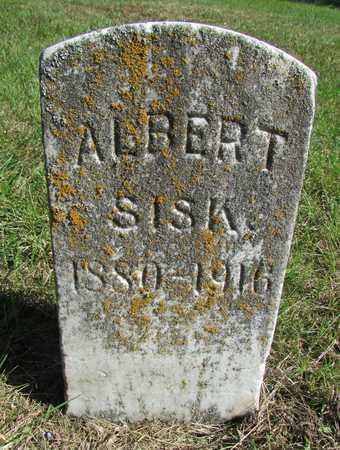 SISK, CHARLES ALBERT - Worth County, Missouri | CHARLES ALBERT SISK - Missouri Gravestone Photos