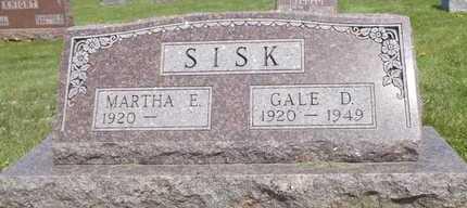 SISK, GALE D - Worth County, Missouri   GALE D SISK - Missouri Gravestone Photos