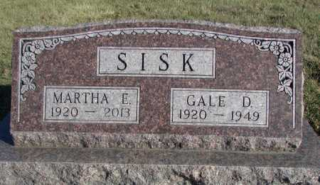 SISK, GALE DIXIE - Worth County, Missouri | GALE DIXIE SISK - Missouri Gravestone Photos