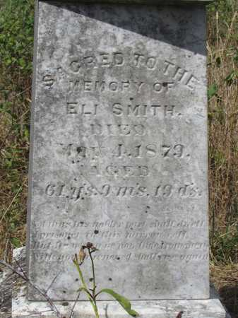 SMITH, ELI - Worth County, Missouri | ELI SMITH - Missouri Gravestone Photos