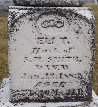 SMITH, ELI T. - Worth County, Missouri | ELI T. SMITH - Missouri Gravestone Photos