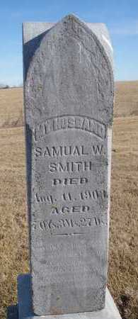 SMITH, SAMUEL W. - Worth County, Missouri | SAMUEL W. SMITH - Missouri Gravestone Photos