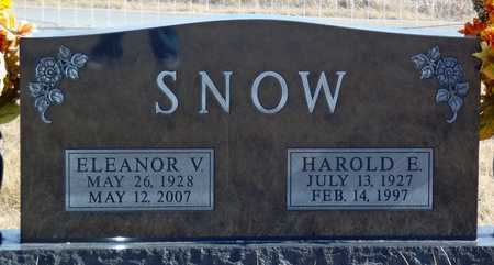 SNOW, ELEANOR V. - Worth County, Missouri | ELEANOR V. SNOW - Missouri Gravestone Photos