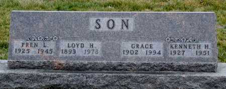 SON, PREN LAVERNE  VETERAN WWII - Worth County, Missouri | PREN LAVERNE  VETERAN WWII SON - Missouri Gravestone Photos