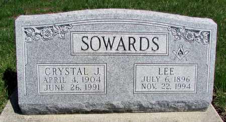 SOWARDS, LEE - Worth County, Missouri | LEE SOWARDS - Missouri Gravestone Photos