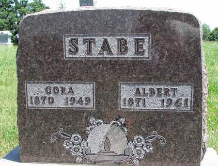 STABE, ALBERT - Worth County, Missouri | ALBERT STABE - Missouri Gravestone Photos