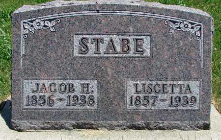 STABE, JACOB H. - Worth County, Missouri | JACOB H. STABE - Missouri Gravestone Photos