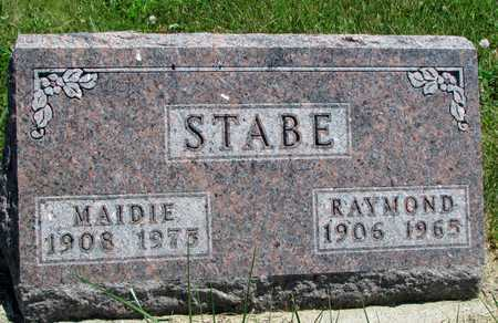 STABE, CLEO RAYMOND - Worth County, Missouri | CLEO RAYMOND STABE - Missouri Gravestone Photos