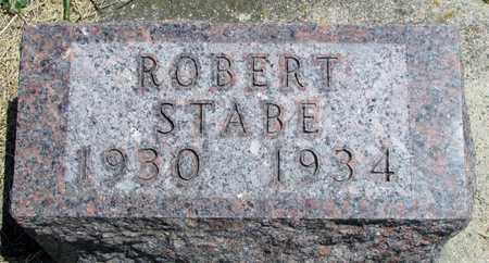 STABE, ROBERT - Worth County, Missouri | ROBERT STABE - Missouri Gravestone Photos