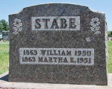 STABE, MARTHA - Worth County, Missouri | MARTHA STABE - Missouri Gravestone Photos