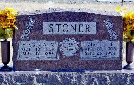 STONER, VIRGIL BYRON - Worth County, Missouri | VIRGIL BYRON STONER - Missouri Gravestone Photos