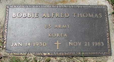 THOMAS, BOBBIE ALFRED VETERAN KOREA - Worth County, Missouri | BOBBIE ALFRED VETERAN KOREA THOMAS - Missouri Gravestone Photos
