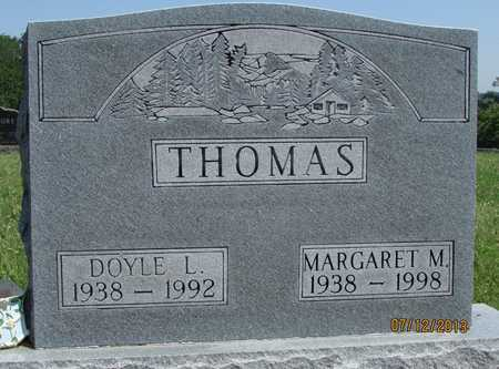 THOMAS, DOYLE L - Worth County, Missouri | DOYLE L THOMAS - Missouri Gravestone Photos