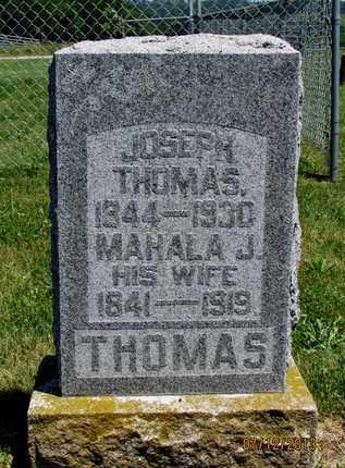 THOMAS, JOSEPH - Worth County, Missouri | JOSEPH THOMAS - Missouri Gravestone Photos