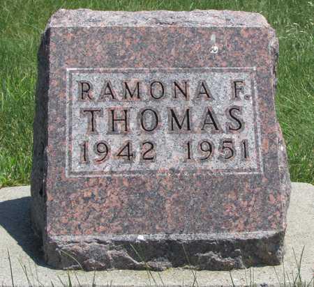 THOMAS, RAMONA F. - Worth County, Missouri | RAMONA F. THOMAS - Missouri Gravestone Photos