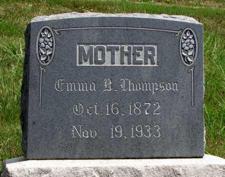 THOMPSON, EMMA BEATRICE - Worth County, Missouri | EMMA BEATRICE THOMPSON - Missouri Gravestone Photos