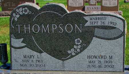 THOMPSON, HOWARD M. - Worth County, Missouri | HOWARD M. THOMPSON - Missouri Gravestone Photos