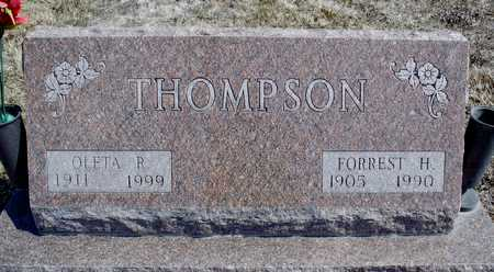 THOMPSON, OLETA R. - Worth County, Missouri | OLETA R. THOMPSON - Missouri Gravestone Photos