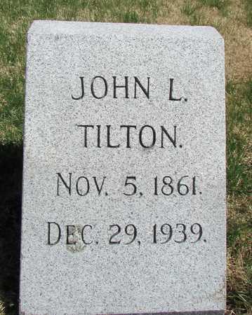 TILTON, JOHN L. - Worth County, Missouri | JOHN L. TILTON - Missouri Gravestone Photos