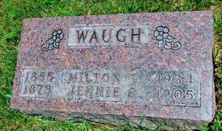 WAUGH, MILTON T - Worth County, Missouri | MILTON T WAUGH - Missouri Gravestone Photos