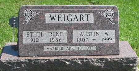 WEIGART, AUSTIN WALLACE - Worth County, Missouri | AUSTIN WALLACE WEIGART - Missouri Gravestone Photos