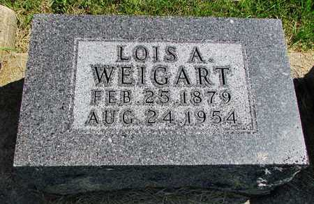WEIGART, LOIS AUGUSTA - Worth County, Missouri   LOIS AUGUSTA WEIGART - Missouri Gravestone Photos
