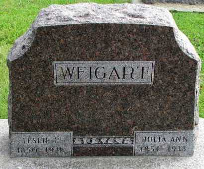 WEIGART, LESLIE COMBS - Worth County, Missouri | LESLIE COMBS WEIGART - Missouri Gravestone Photos