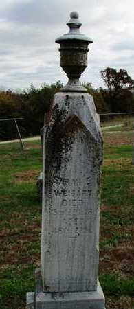 WEIGART, SARAH  E. - Worth County, Missouri   SARAH  E. WEIGART - Missouri Gravestone Photos