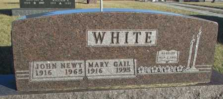 WHITE, MARY GAIL - Worth County, Missouri | MARY GAIL WHITE - Missouri Gravestone Photos