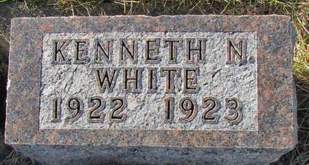 WHITE, KENNETH N. - Worth County, Missouri | KENNETH N. WHITE - Missouri Gravestone Photos