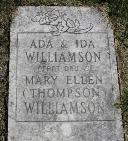 WILLIAMSON, IDA - Worth County, Missouri | IDA WILLIAMSON - Missouri Gravestone Photos
