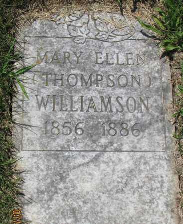 WILLIAMSON, MARY ELLEN - Worth County, Missouri   MARY ELLEN WILLIAMSON - Missouri Gravestone Photos