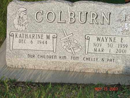 COLBURN, WAYNE E. - Adams County, Nebraska | WAYNE E. COLBURN - Nebraska Gravestone Photos