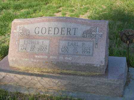 PETER GOEDERT, EARL - Adams County, Nebraska | EARL PETER GOEDERT - Nebraska Gravestone Photos