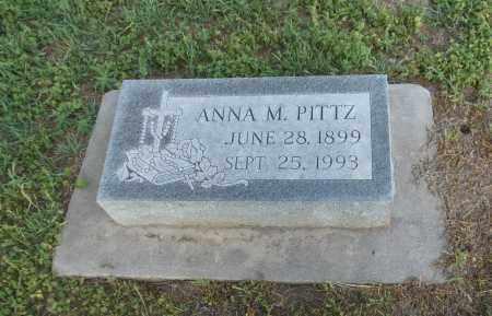 PITTZ, ANNA M - Adams County, Nebraska | ANNA M PITTZ - Nebraska Gravestone Photos