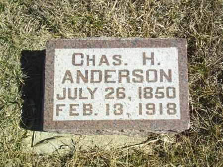 ANDERSON, CHARLES H - Antelope County, Nebraska | CHARLES H ANDERSON - Nebraska Gravestone Photos
