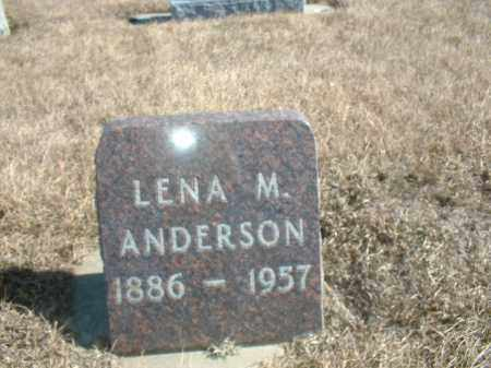WARNKE ANDERSON, LENA M - Antelope County, Nebraska | LENA M WARNKE ANDERSON - Nebraska Gravestone Photos