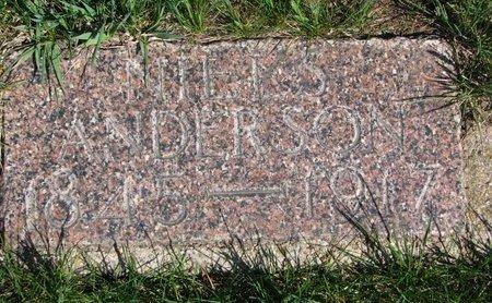 ANDERSON, NIELS - Antelope County, Nebraska   NIELS ANDERSON - Nebraska Gravestone Photos