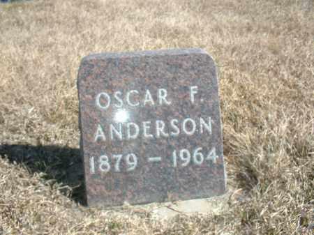 ANDERSON, OSCAR F - Antelope County, Nebraska | OSCAR F ANDERSON - Nebraska Gravestone Photos