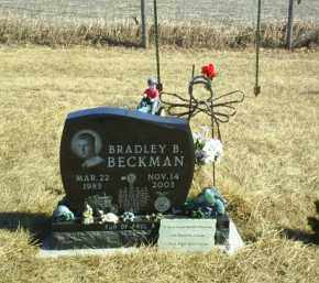 BECKMAN, BRADLEY B - Antelope County, Nebraska   BRADLEY B BECKMAN - Nebraska Gravestone Photos