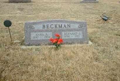 BECKMAN, BERNARD J - Antelope County, Nebraska | BERNARD J BECKMAN - Nebraska Gravestone Photos