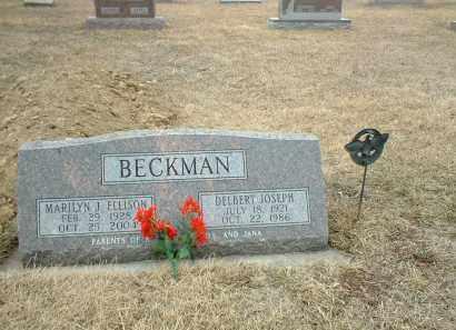 BECKMAN, DELBERT JOSEPH - Antelope County, Nebraska   DELBERT JOSEPH BECKMAN - Nebraska Gravestone Photos