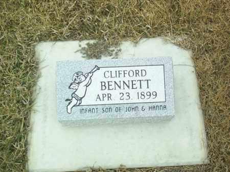 BENNETT, CLIFFORD - Antelope County, Nebraska | CLIFFORD BENNETT - Nebraska Gravestone Photos