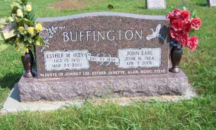 BUFFINGTON, ESTHER M. - Antelope County, Nebraska | ESTHER M. BUFFINGTON - Nebraska Gravestone Photos