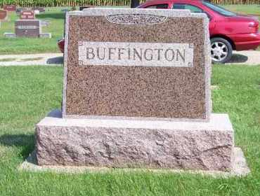 BUFFINGTON, JACOB BACKSIDE - Antelope County, Nebraska   JACOB BACKSIDE BUFFINGTON - Nebraska Gravestone Photos