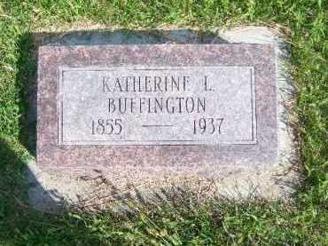 UNKNOWN BUFFINGTON, KATHERINE L. - Antelope County, Nebraska | KATHERINE L. UNKNOWN BUFFINGTON - Nebraska Gravestone Photos