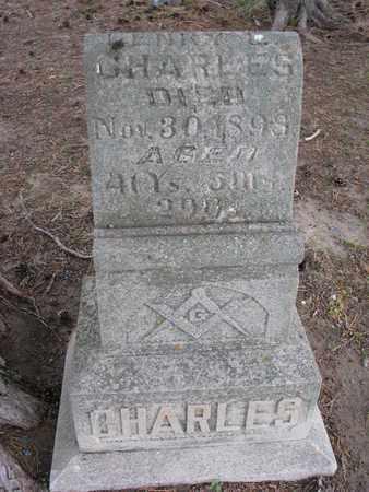 CHARLES, HENRY L. - Antelope County, Nebraska | HENRY L. CHARLES - Nebraska Gravestone Photos
