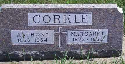 SMITH CORKLE, MARGARET - Antelope County, Nebraska | MARGARET SMITH CORKLE - Nebraska Gravestone Photos